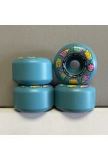 Spitfire Spitfire Formula Four Skate Like A Girl Radials Blue 53mm 99d Wheels (set of 4)