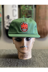 Spitfire Spitfire Bighead Fill Snapback Hat - Green/Red