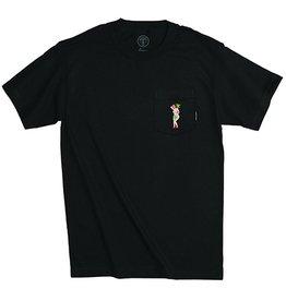 Good Worth & Co. Good Worth & Co. x Kovska Mary Jane Pocket T-shirt - Black