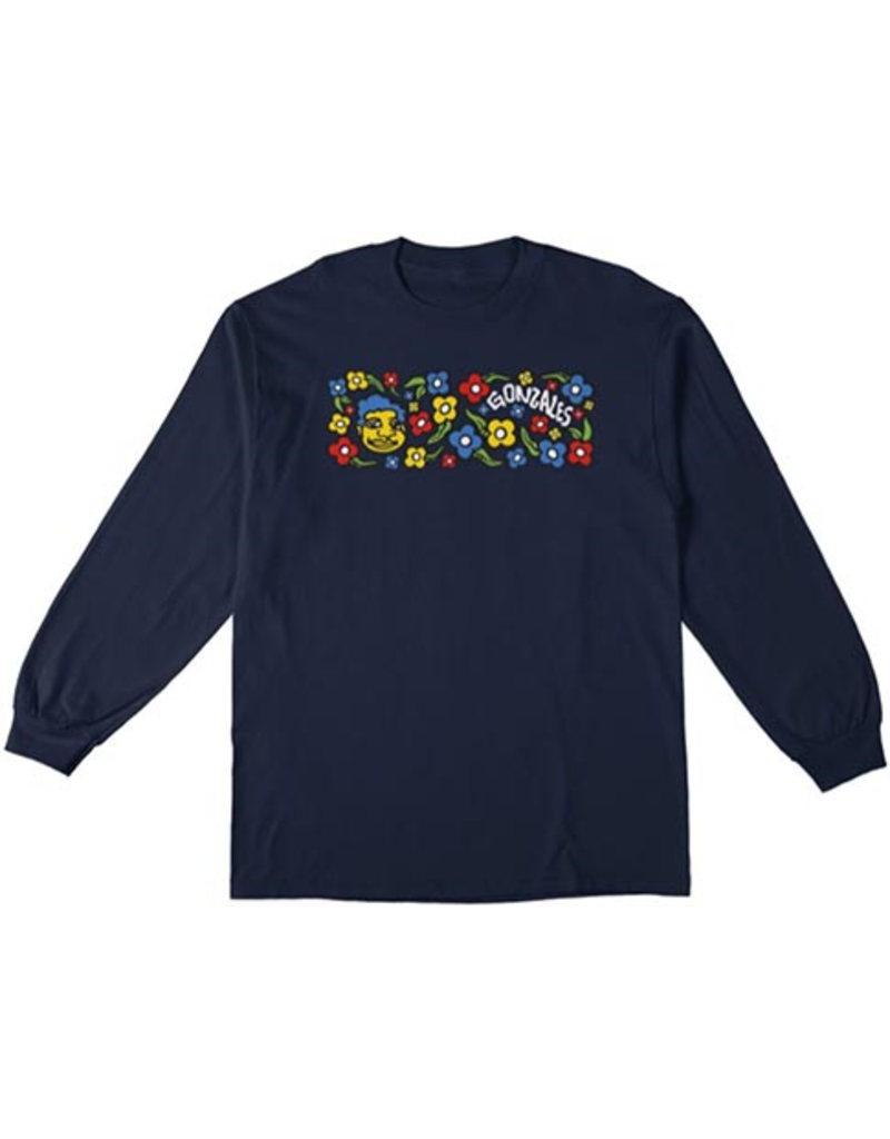 Krooked Krooked Sweatpants Longsleeve T-shirt - Navy