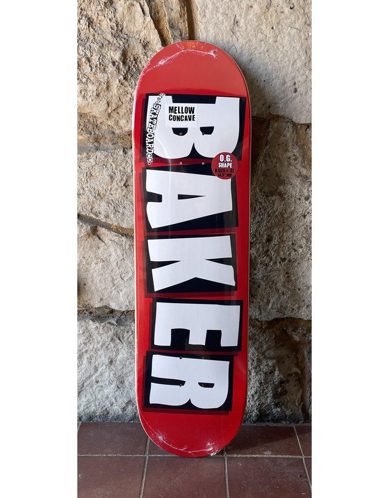 Baker Baker Team Brand Logo White Deck - 8.625 x 32