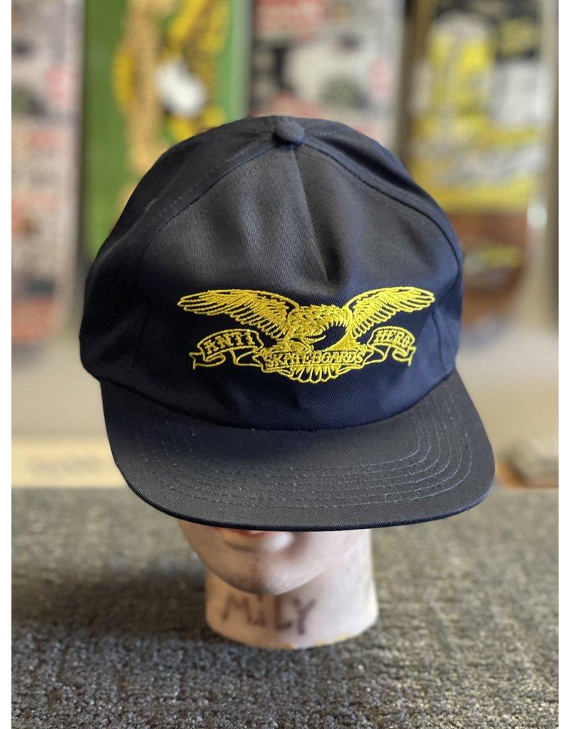 Anti-Hero Anti-Hero Basic Eagle Snapback Hat - Navy
