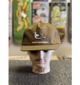 Anti-Hero Anti-Hero Lil Pigeon Snapback Hat - Olive