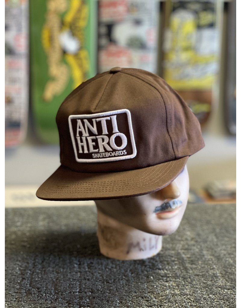Anti-Hero Anti-Hero Reserve Snapback Hat - Brown