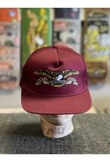 Anti-Hero Anti-Hero Eagle Snapback Hat - Dark Red