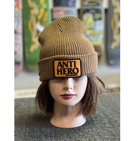 Anti-Hero Anti-Hero Reserve Patch Beanie - Brown