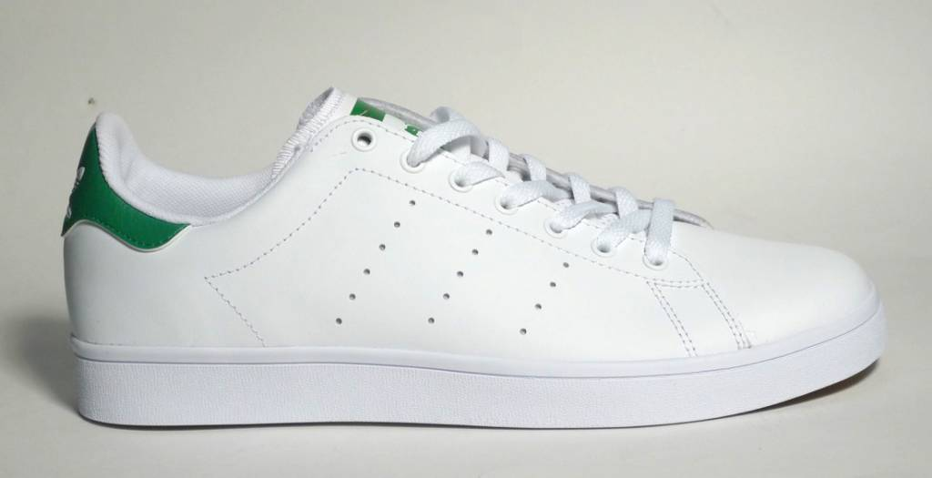 hot sale online d1eb3 9eeee Adidas Stan Smith Vulc - White/White/Green