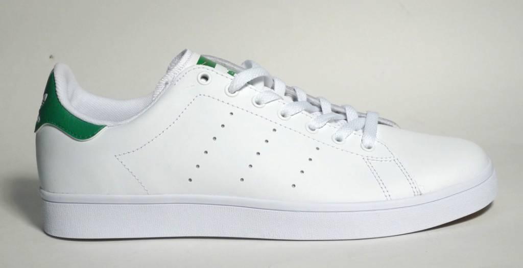 Adidas Adidas Stan Smith Vulc - White White Green - FA SKATES 053727ff1