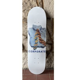 Corporate Skateboards Corporate Works Ties Water Color Deck - 8.375