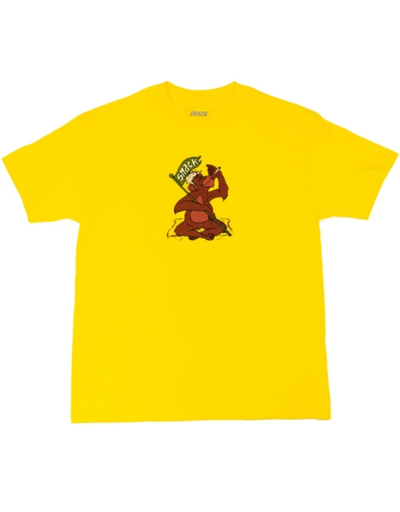 Snack Snack Gkode Jungle T-shirt - Yellow (size Large or X-Large)