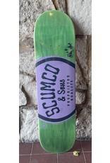 Scumco & Sons Scumco & Sons Logo Green/Purple Deck - 8.25 (silverspoon)