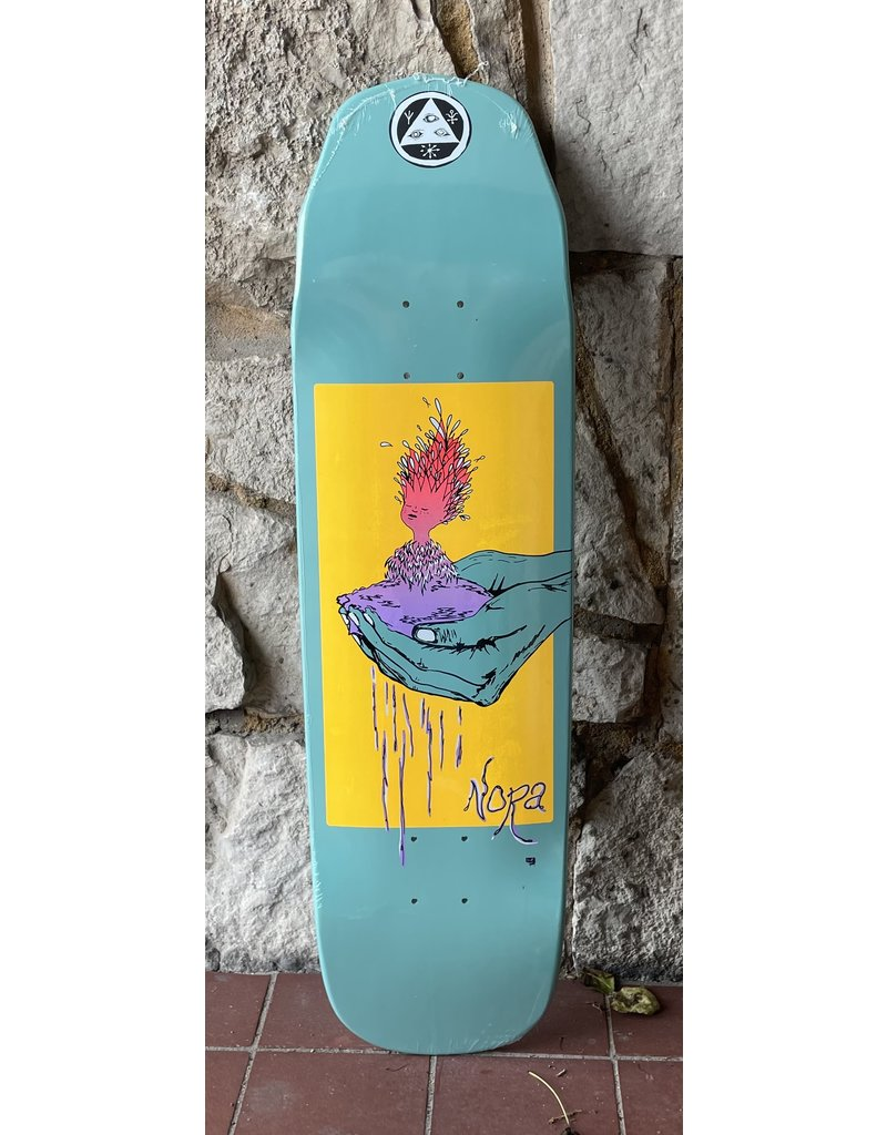 Welcome Welcome Nora Vasconcellos Soil on Wicked Queen Teal Dip Deck - 8.6 x 32.38