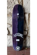 Welcome Welcome Futbol on Son of Moontrimmer White Deck - 8.25 x 32.125