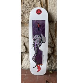 Welcome Welcome Daniel Vargas Tusk on Effigy White Deck - 8.8 x 32.5