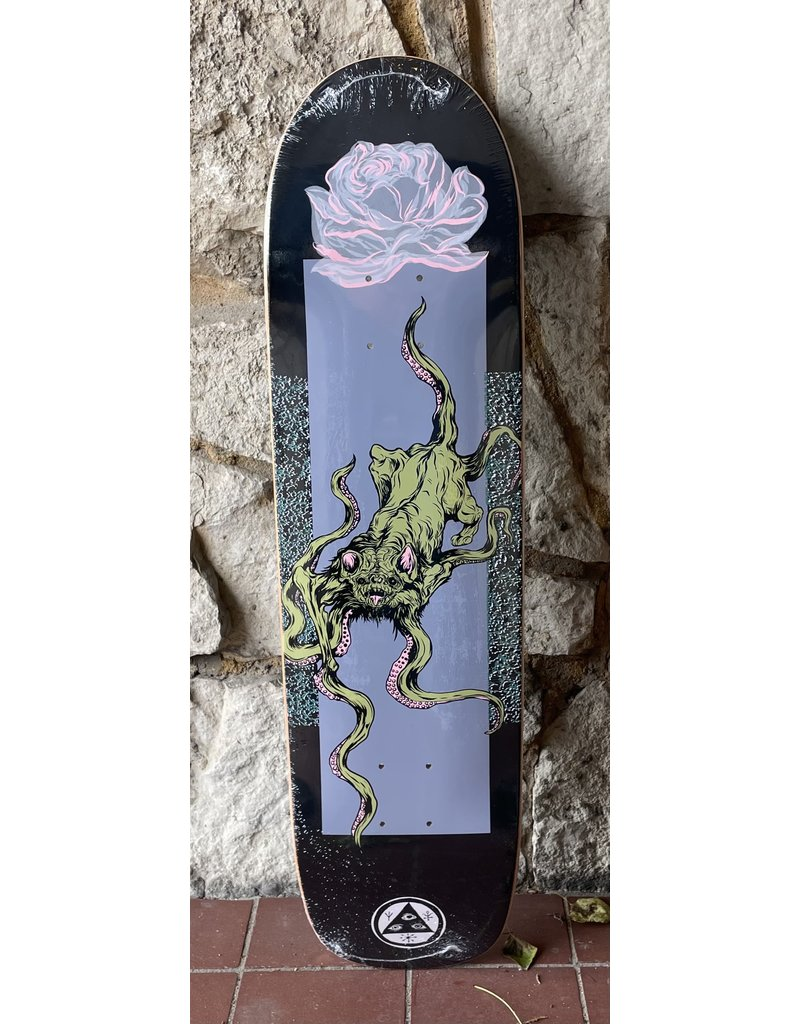 Welcome Welcome Bactocat on Son of Planchette Black/Lavender Deck - 8.38 x 32.25