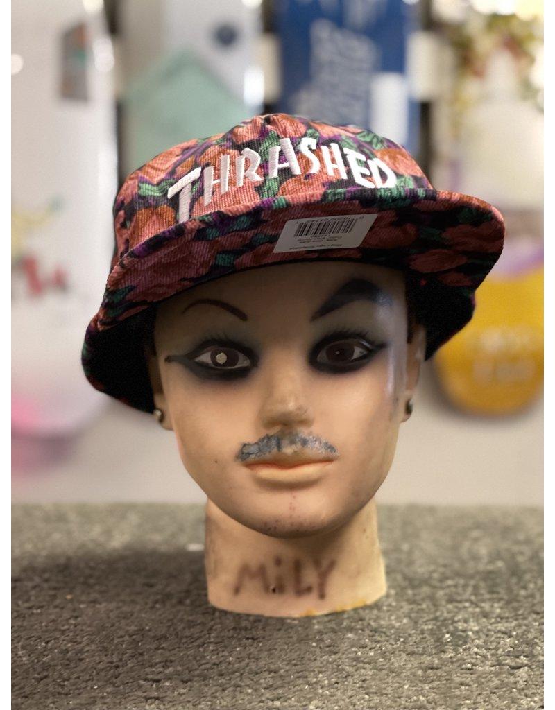 Thrasher Mag Thrasher Mag Logo Snapback Hat - Pink Floral