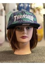 Thrasher Mag Thrasher Mag Logo Snapback Hat - Dino Print
