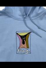Frog Skateboards Frog Jumpy Punk Logo Hoodie - Light Blue