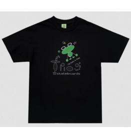 Frog Skateboards Frog My Brain is Fried T-shirt - Black