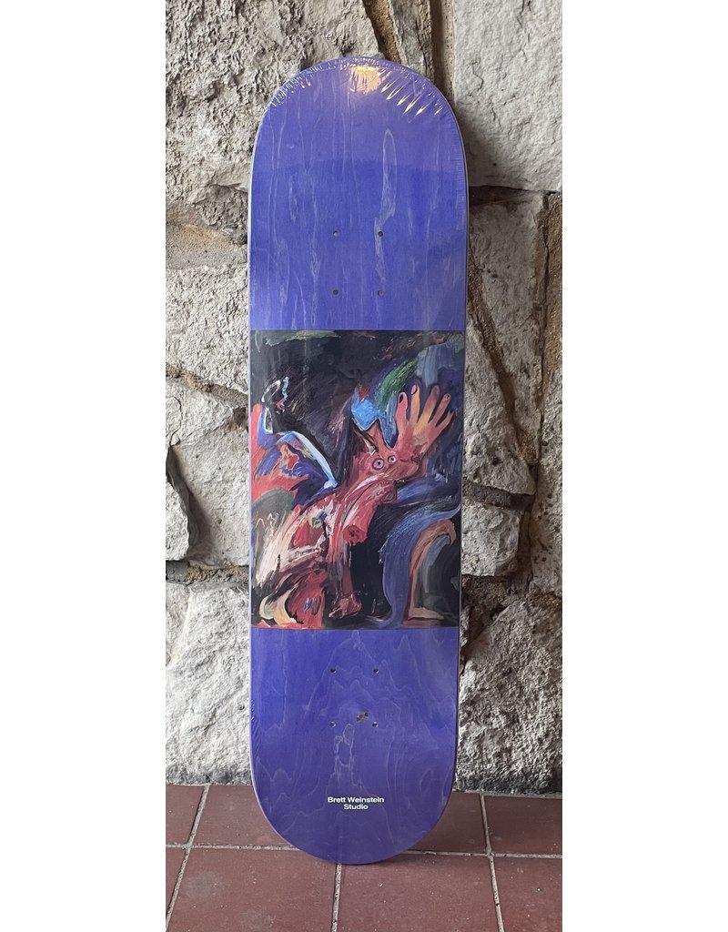 Studio Studio Weinstein Dawg Bite Purple Stain Deck - 8.125