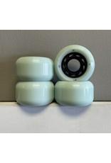 Orbs Orbs Ghost LItes 56mm 102a Light Blue/Black wheels (set of 4)