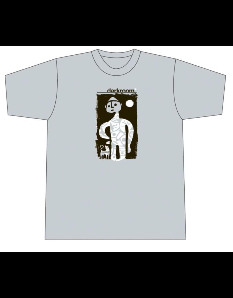 Darkroom Darkroom Scumstache T-shirt - Light Grey