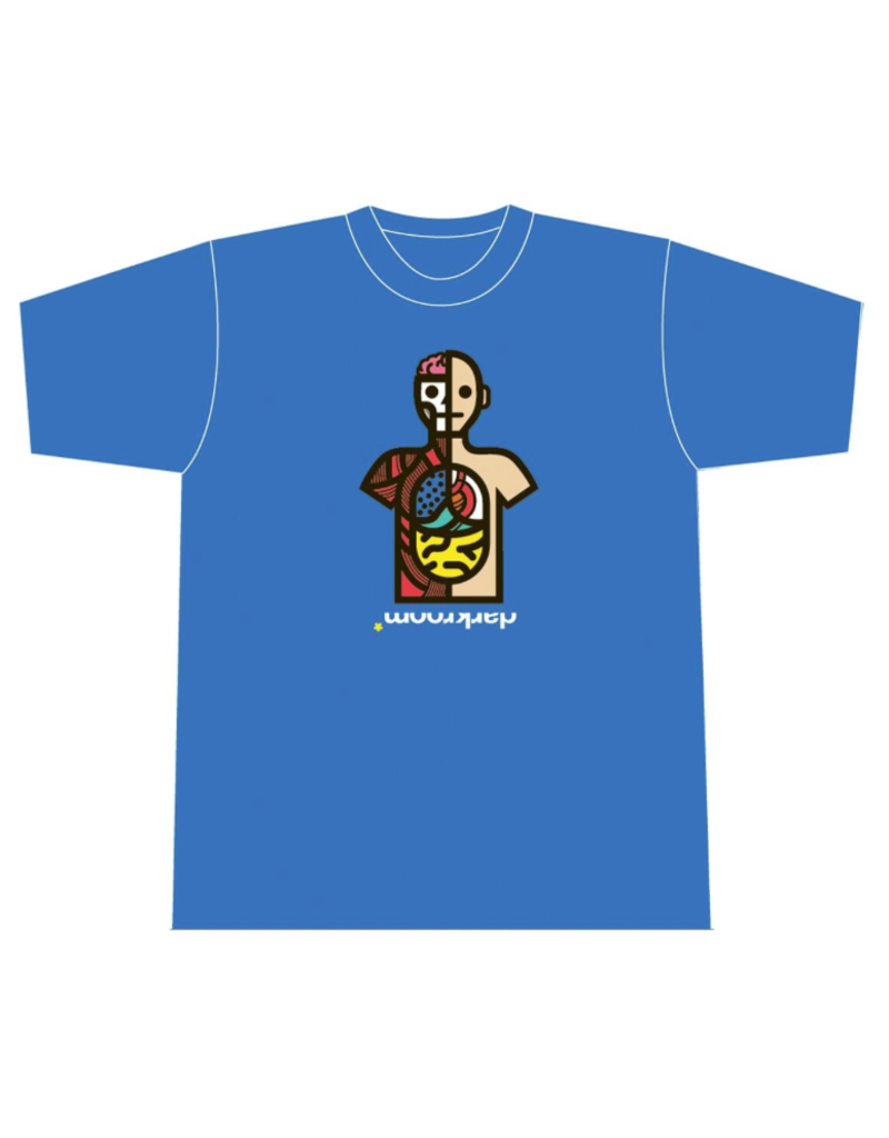 Darkroom Darkroom Autopsy T-shirt - Royal Blue