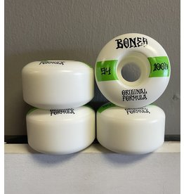 Bones Wheels Bones 100's OG #14 White V4 Wide 54mm Wheels (Set Of 4)