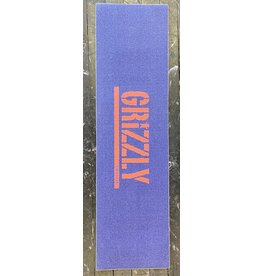 """Grizzly Grizzly Stamped Necessities Blue/Orange Grip Sheet 9"""""""