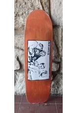 Polar Polar Paul Grund Cold Streak Orange Stain Deck - 8.75 x 31.5 (Surf jr.)