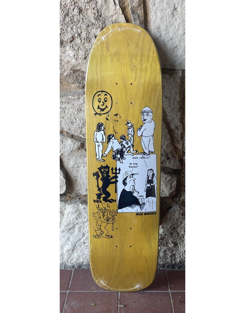 Polar Polar Nick Boserio Year 2020 Yellow Stain Deck - 8.65 x 32 (1991 jr.)