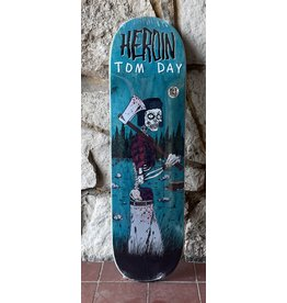 Heroin Heroin Tom Day Woodsman Deck - 8.75