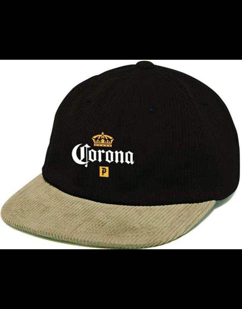 Primitive Primitive x Corona Snapback hat - Black/Tan