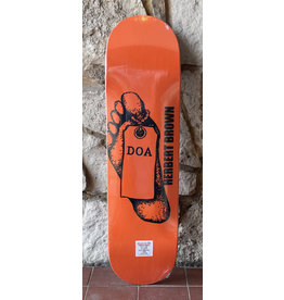 Dead On Arrival D.O.A Herb Toe Tag Deck - 8.375 x 32
