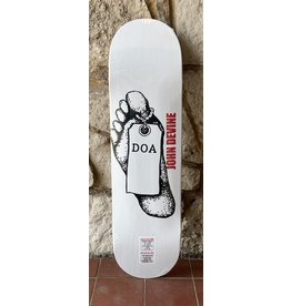 Dead On Arrival D.O.A Devine Toe Tag Deck (Tapered Shape) - 8.375 x 32