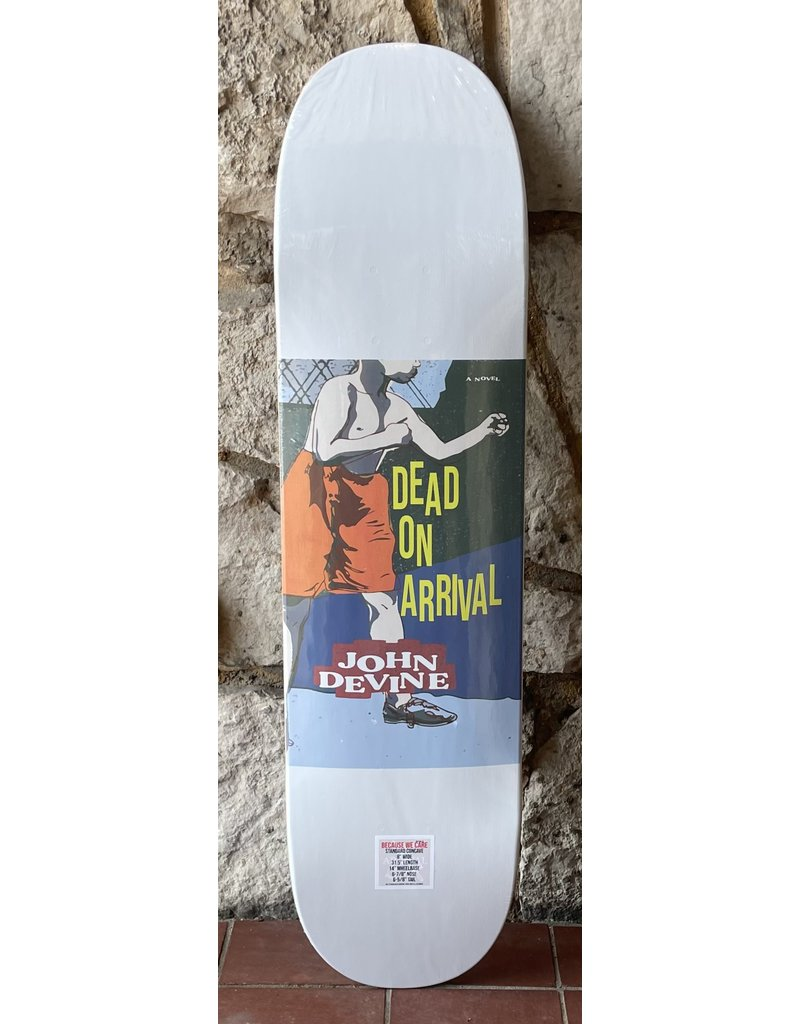 Dead On Arrival D.O.A Devine Fists Deck - 8.0 x 31.5