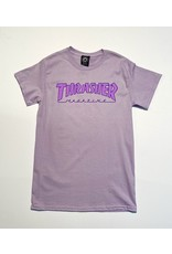 Thrasher Mag Thrasher Outlined Orchid T-Shirt (size Small)