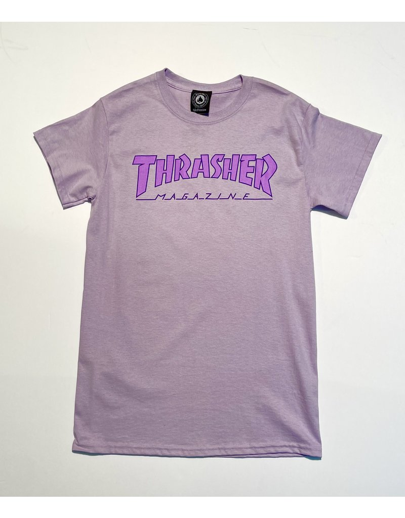 Thrasher Mag Thrasher Outlined Orchid T-Shirt