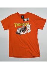 Thrasher Mag Thrasher Neckface 40 years T-Shirt - Orange