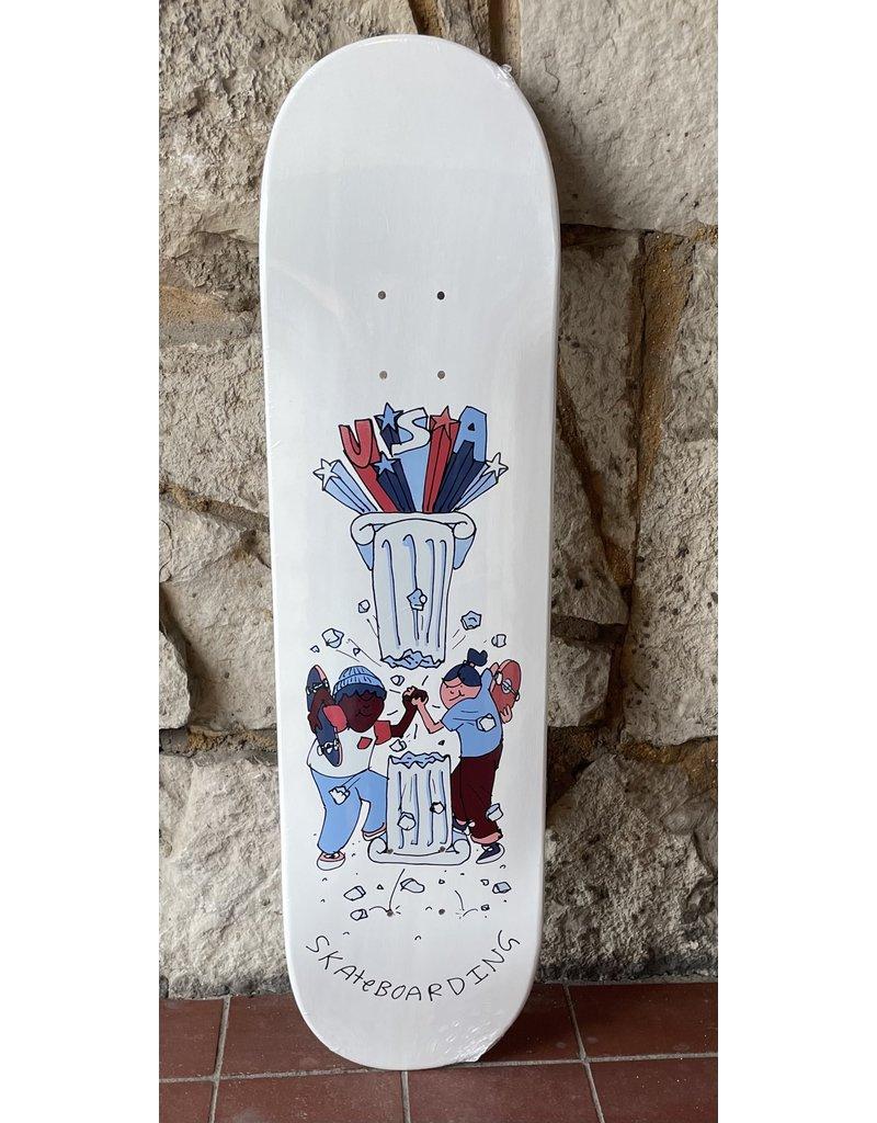 "USA Skateboarding Henry Jones ""Unity"" Deck - 8.25 x 32.375"