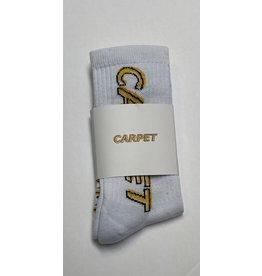 Carpet Carpet Misprint Socks - White