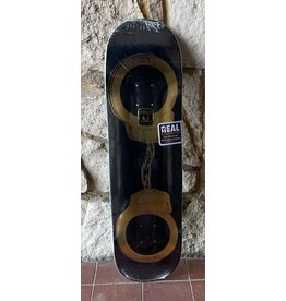 Real Real Busenitz Gold Cuffs Deck - 8.50 x 32.25 Full Shape