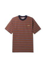 Butter Goods Butter Goods Clove Stripe T-shirt - Brown