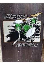 Santa Cruz Santa Cruz Braun Drum Kit Everslick Deck - 8.25 x 31.8