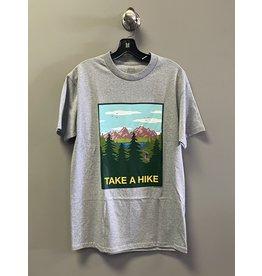 Skate Mental Skate Mental Take A Hike T-Shirt - Grey
