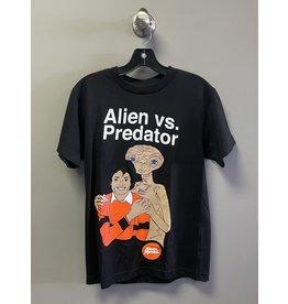 Skate Mental Skate Mental Alien Vs Predator T-Shirt - Black