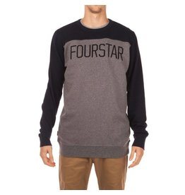 Fourstar Fourstar Football Crew - Midnight  (Large)