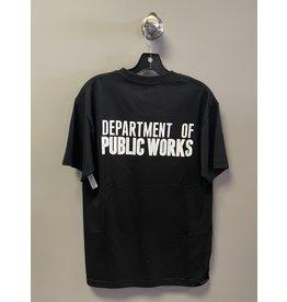 Scumco & Sons Scumco & Sons Dept. Public Works T-shirt - Black (size Medium)