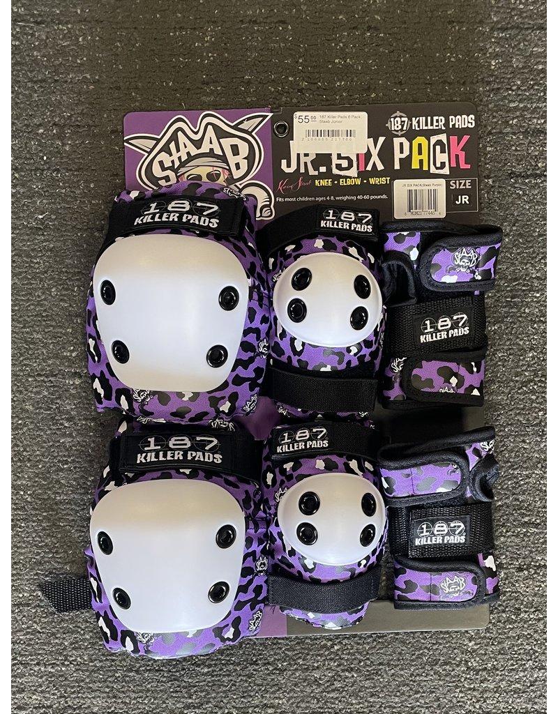 187 Killer Pads 187 Killer Pads 6 Pack Staab Junior