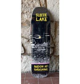 Pardon My Thrashing Pardon My Thrashing Sleeze Lake (Shaped) Deck - 9.0
